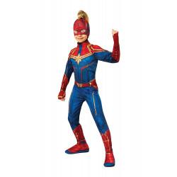 Máscara Capitã Marvel infantil Luxo