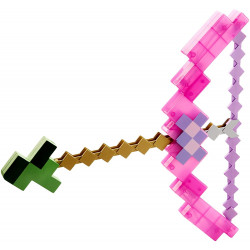 Mattel Minecraft Arco e Flecha Rosa
