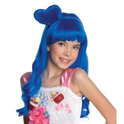 Peruca Infantil Azul Katy Perry