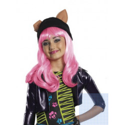 Peruca Infantil Monster High Howleen