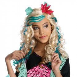 Peruca Infantil Monster High Lagoona Blue