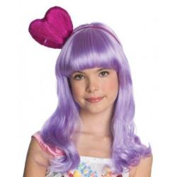 Peruca Katy Perry Infantil Lilás
