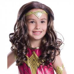 Peruca Mulher Maravilha A Origem da Justiça Infantil