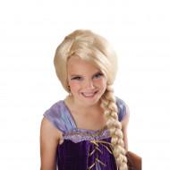 Peruca Trançada Disney Rapunzel Enrolados