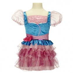 Vestido Infantil Winx Believix Club Bloom