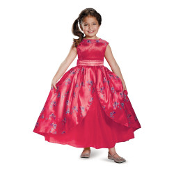 Vestido Princesa Elena de Avalor infantil Luxo