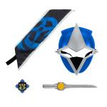 Acessórios Máscara Power Rangers Ninja Azul Infantil