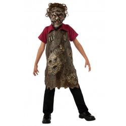 Avental Leatherface Infantil Luxo