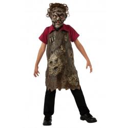 Avental Leatherface Infantil Luxo