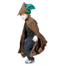 Capa Robin Hood Luxo Infantil