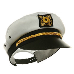 Chapéu Capitão Yacht Marinheiro Ajustável Infantil
