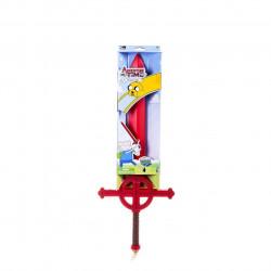 Espada Hora da Aventura Finn Luxo Infantil Vermelha