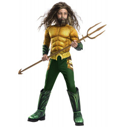 Fantasia Aquaman A Origem da Justiça Infantil Luxo