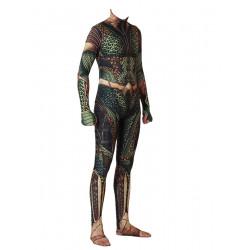 Fantasia Aquaman Luxo Adulto Spandex