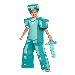 Fantasia Armadura Armor Minecraft Luxo