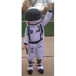 Fantasia Astronauta Completa Infantil Luxo