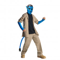 Fantasia Avatar Infantil Masculino