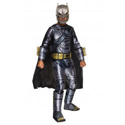 Fantasia Batman Armadura A Origem da Justiça Infantil Luxo
