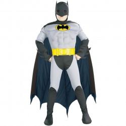 Fantasia Batman Infantil Luxo com Músculos