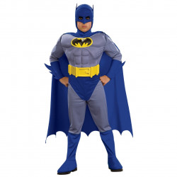 Fantasia Batman Infantil Luxo Nova