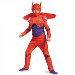 Fantasia Baymax Vermelho Operação Big Hero 6 Infantil