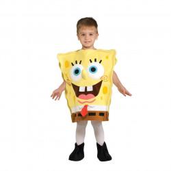 Fantasia Bob Esponja Calça Quadrada Infantil