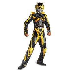 Fantasia Bumblebee Infantil Musculos Transformers A Era da Extinção