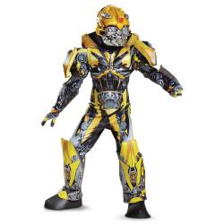 Fantasia Bumblebee Músculos Transformers Elite Infantil