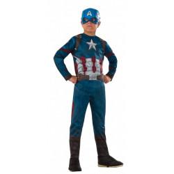 Fantasia Capitão América Guerra Civil Infantil