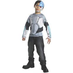 Fantasia Ciborgue Titãs Infantil Clássica