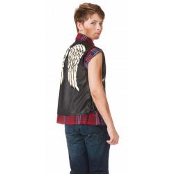 Fantasia Colete Walking Dead Daryl Dixon Infantil