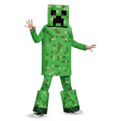 Fantasia Creeper Minecraft Luxo