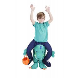 Fantasia de Montar Dinossauro Me Carregando Infantil