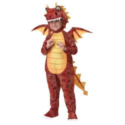 Fantasia Dinossauro Dragão Luxo