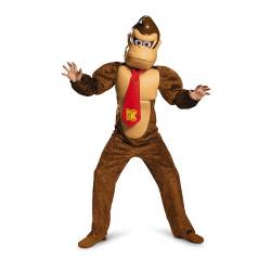 Fantasia Donkey Kong Infantil Super Mario Luxo