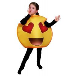 Fantasia Emoji Love Amor Infantil Luxo
