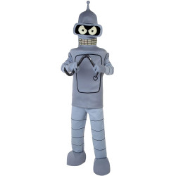 Fantasia Futurama Bender Robo Luxo Infantil