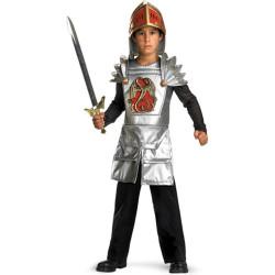 Fantasia Guerreiro Medieval Infantil Luxo