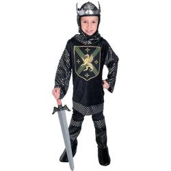 Fantasia Guerreiros do Rei Luxo Infantil
