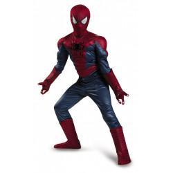 Fantasia Homem Aranha com Músculos Completa Infantil