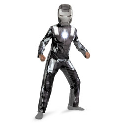 Fantasia Homem de Ferro Infantil Máquina de Guerra