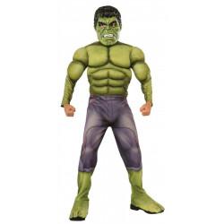Fantasia Hulk Os Vingadores 2 Era de Ultron Músculos Infantil