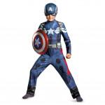 Fantasia Infantil Capitão América Luxo Os Vingadores