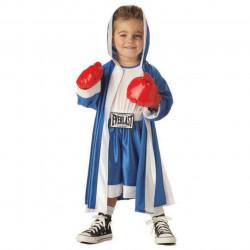 Fantasia Infantil Esportista Boxeador Clássica