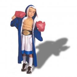 Fantasia Infantil Esportista Boxeador Luxo