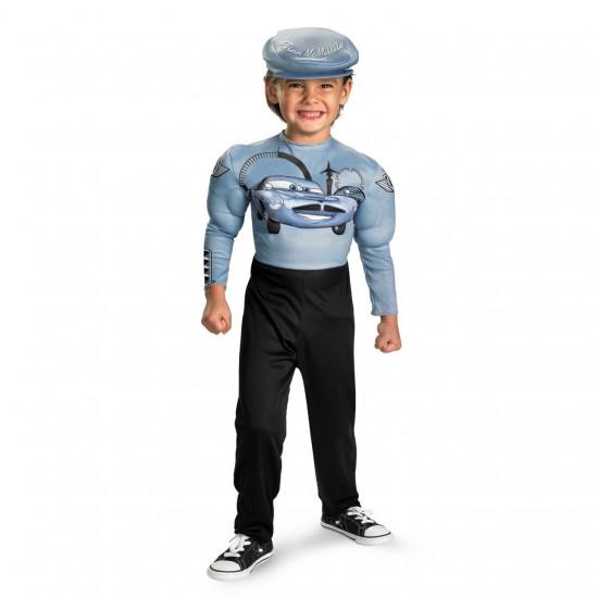Fantasia Infantil Finn McMissile com Músculos