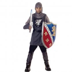Fantasia Infantil Guerreiro Medieval Clássica