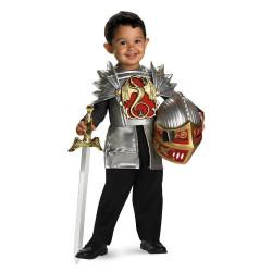 Fantasia Infantil Guerreiro Medieval Luxo