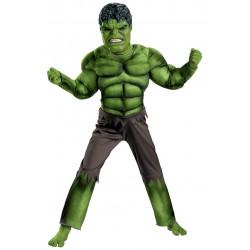 Fantasia Infantil Incrível Hulk com Músculo Luxo