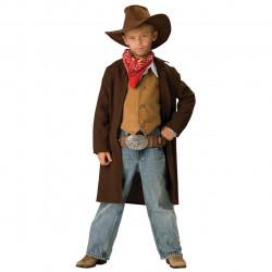 Fantasia Infantil Masculina Cowboy Renegado Velho Oeste